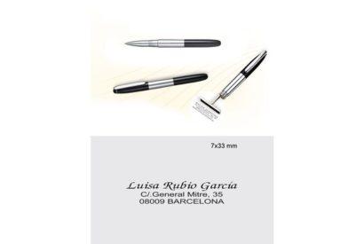 Bolígrafo con Sello