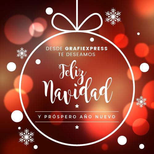 grafiexpress les desea felices fiestas